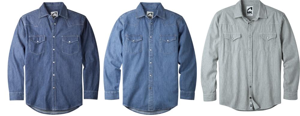 Mountain Khaki Original Mountain Denim Shirts