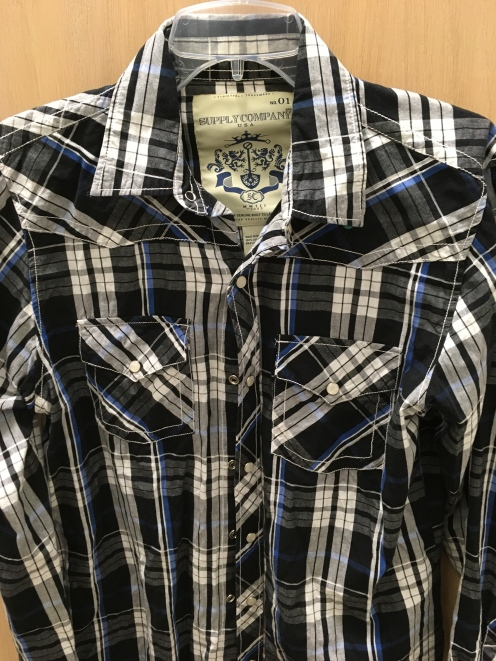 Supply Company western snap button shirt