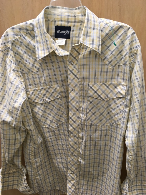 Wrangle western snap button shirt