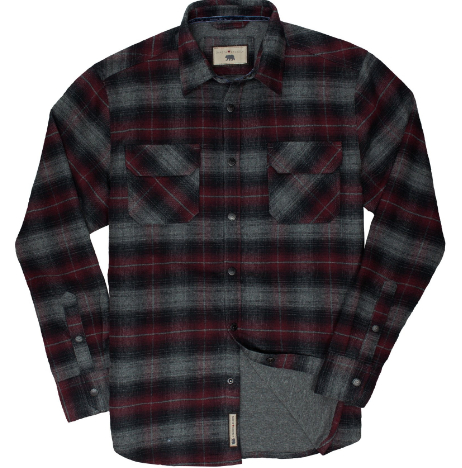 Snap Button Shirt: Dakota Grizzly - Shayne