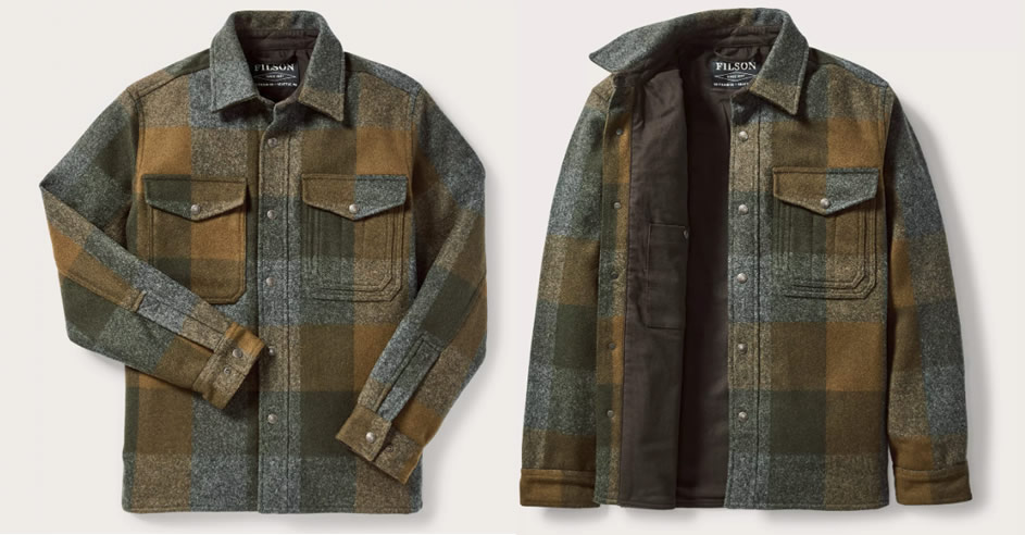Snap Button Shirt of the Day: Filson - Mackinaw Jac-Shirt