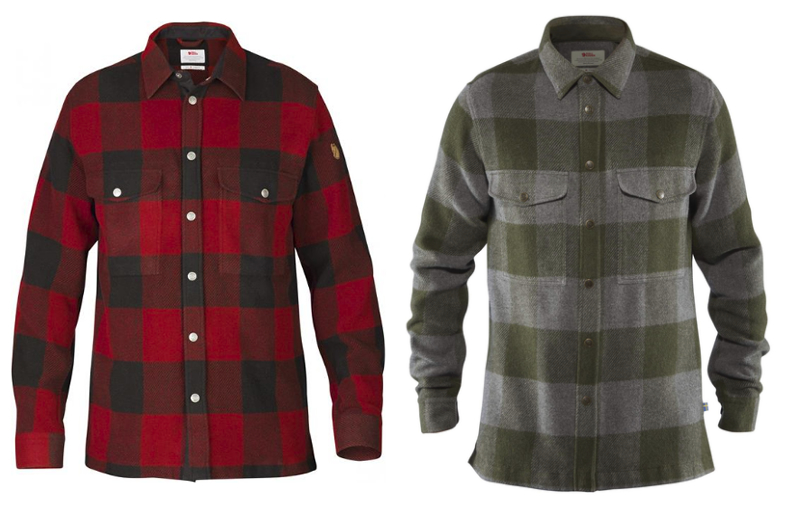 Snap Button Shirt of the Day: Fjällräven - Canada Shirt
