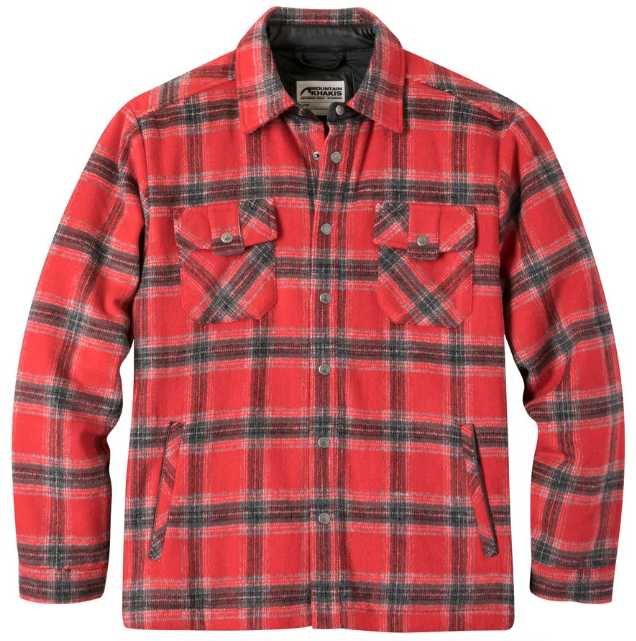 Snap Button Shirt of the Day: Mountain Khakis Sportman Shirt Jac