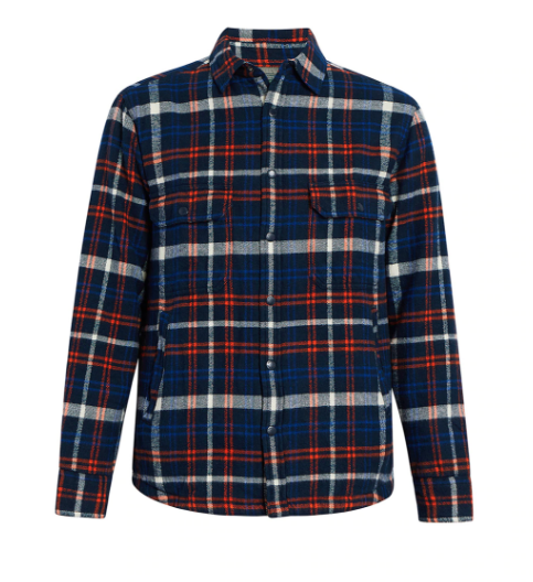 Snap Button Shirt of the Day: Woolrich - Oxbow Bend Plaid Flannel Insulated Shirt Jac
