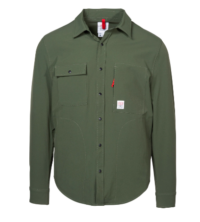 Snap Button Shirt of the Day: Topo Designs - Breaker Shirt Jacket