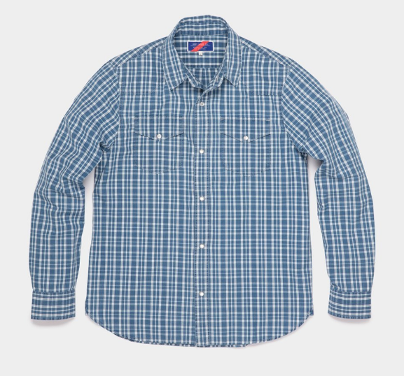 Snap Button Shirt of the Day: Best Made Co. - Checkered Western Shirt