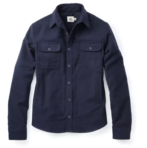 Snap Button Shirt of the Day: Flint and Tinder - Moleskin Shirt Jacket