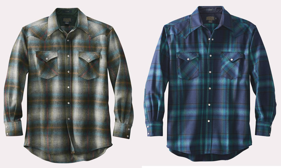 Snap Button Shirt of the Day: Pendleton - Snap-Front Western Canyon Shirt