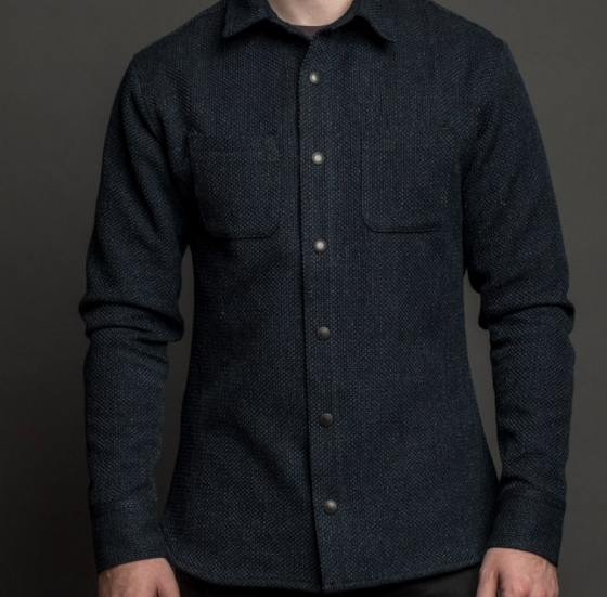 Snap Button Shirt of the Day: Rivet and Hide - Nine Lives Sashiko Kalamazoo Overshirt
