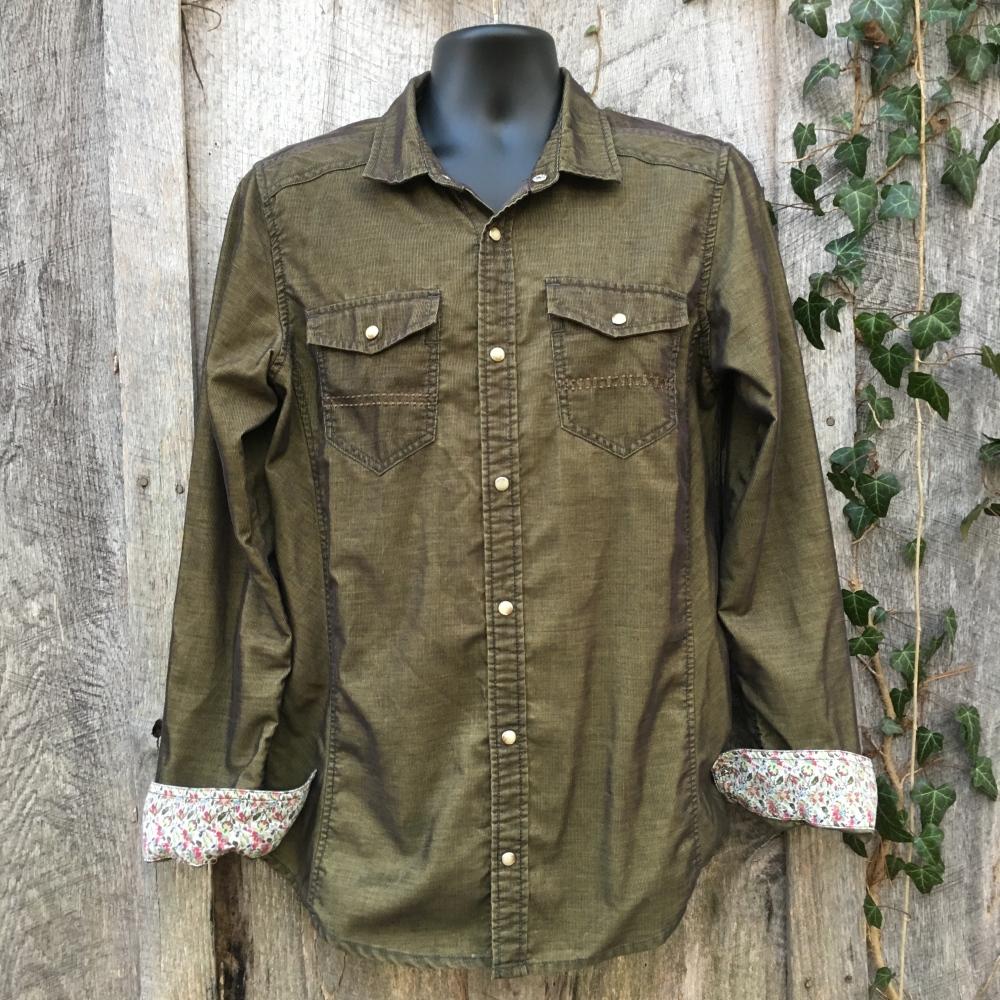 snap-button-western-shirt-prana-slim-fit-medium