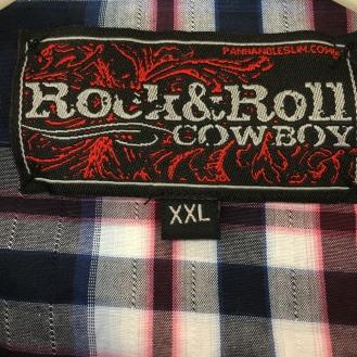 Snap Button Western Shirt - Rock & Roll Cowboy