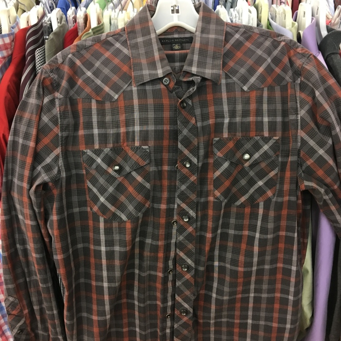 Snap Button Western Shirt - Banana Republic