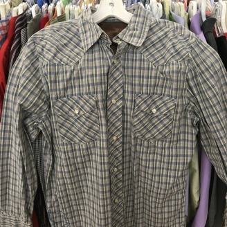Snap Button Western Shirt - Old Navy