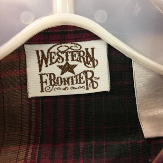Snap Button Western Shirt - Western Frontier