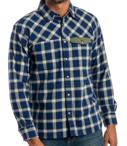 Snap Button Shirt of the Day: Ably Apparel - Jasper Long Sleeve Snap Button Up Shirt