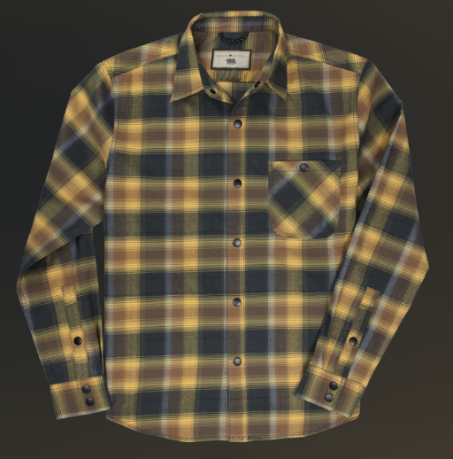 Snap Button Shirt of the Day: Dakota Grizzly - Mason
