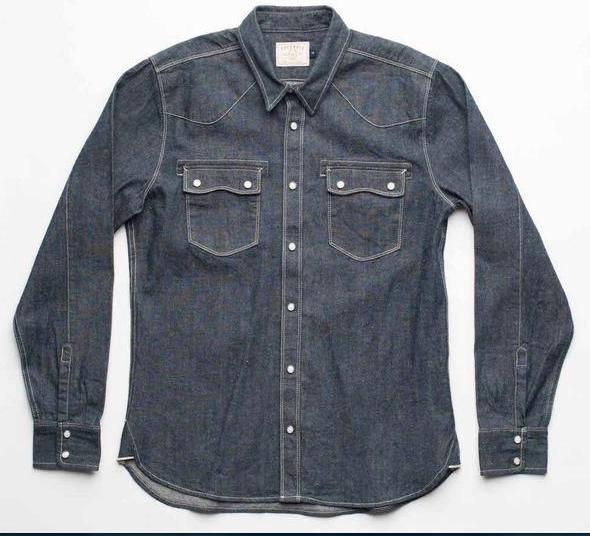 Snap Button Shirt of the Day: Freenote Cloth - Modern Western