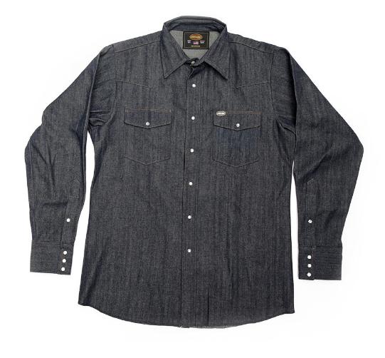 Snap Button Shirt of the Day: Whiteknuckler Brand - Highwayman Premium 10oz Denim Shirt