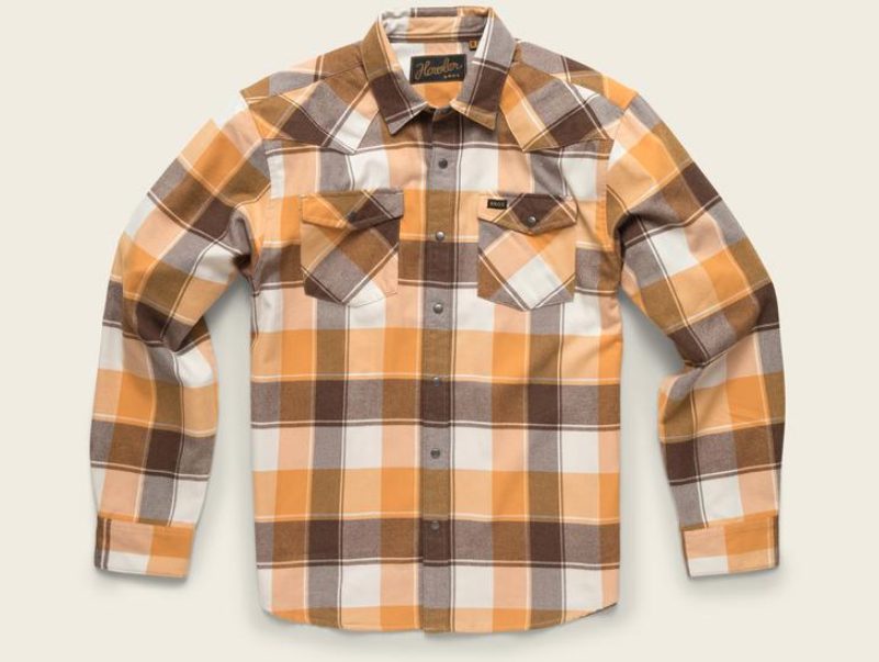 Snap Button Shirt of the Day: Howler Brothers - Stockman Flannel Snapshirt