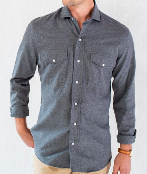 Snap Button Shirt of the Day: Ledbury - Varley Western Flannel