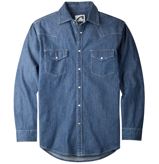 Snap Button Shirt of the Day: Mountain Khakis - Original Mountain Denim Shirt
