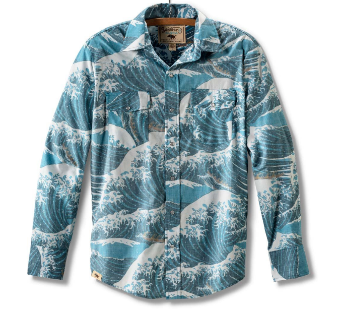 Snap Button Shirt of the Day: Western Aloha - Alenuihaha Long Sleeve