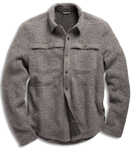 Wool Snap Button Shirt: Toad and Co. Telluride Sherpa Shirtjac