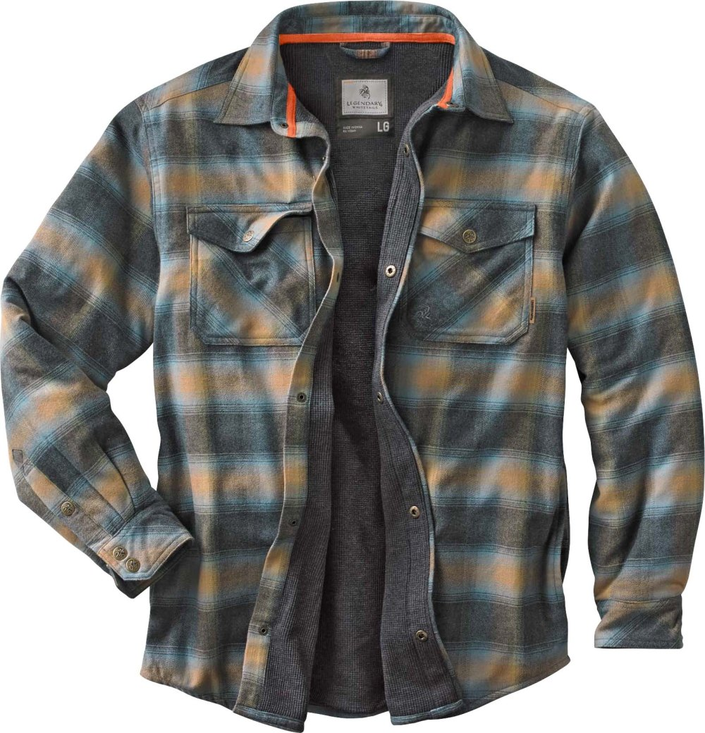 Snap Button Shirt of the Day: Legendary Whitetails - Archer Thermal Lined Flannel Shirt Jacket