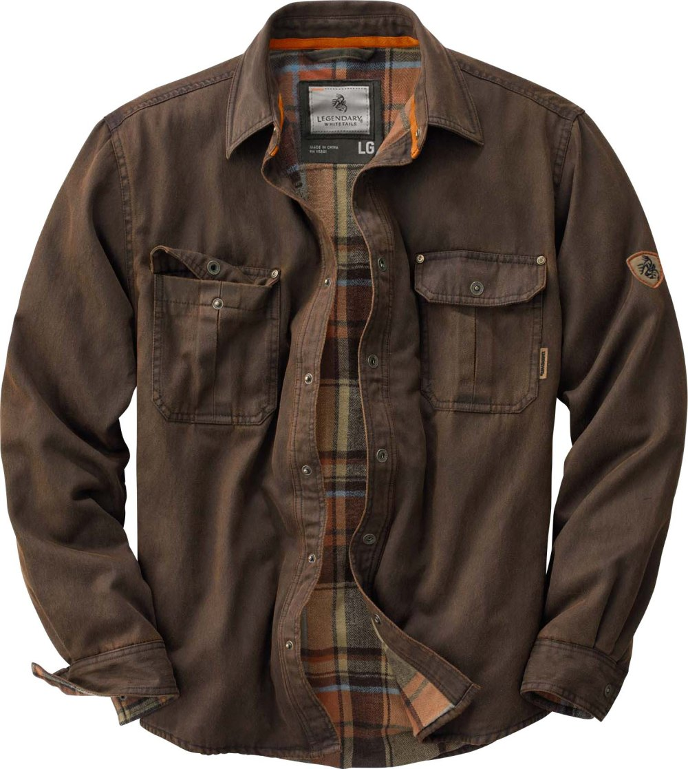 Snap Button Shirt of the Day: Legendary Whitetails - Journeyman Flannel Lined Rugged Shirt Jacket