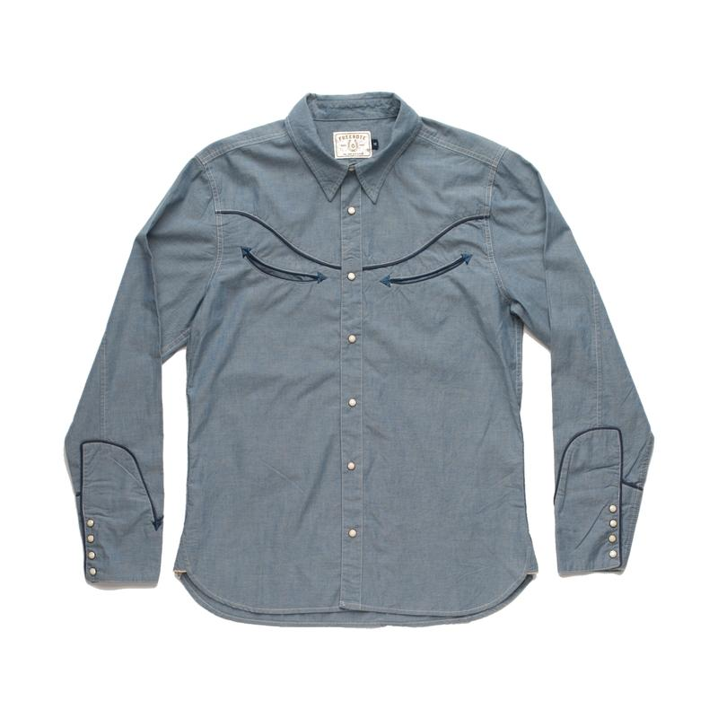 Snap Button Shirt of the Day: Freenote - Rambler Shirt