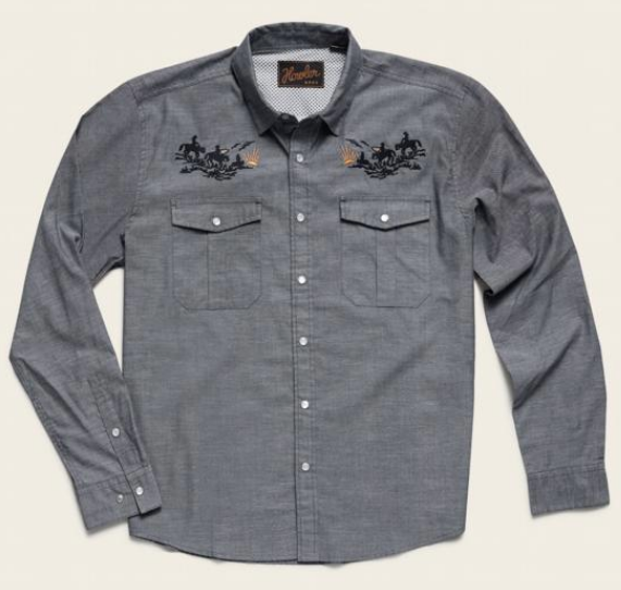 Snap Button Shirt of the Day: Howler Brothers - Gaucho Snapshirt - Howler Posse