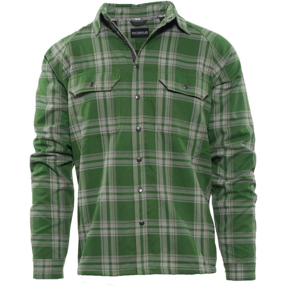 Fly Fishing Snap Button Shirt: Allen Fly Fishing - Exterus Fireside Flannel Shirt