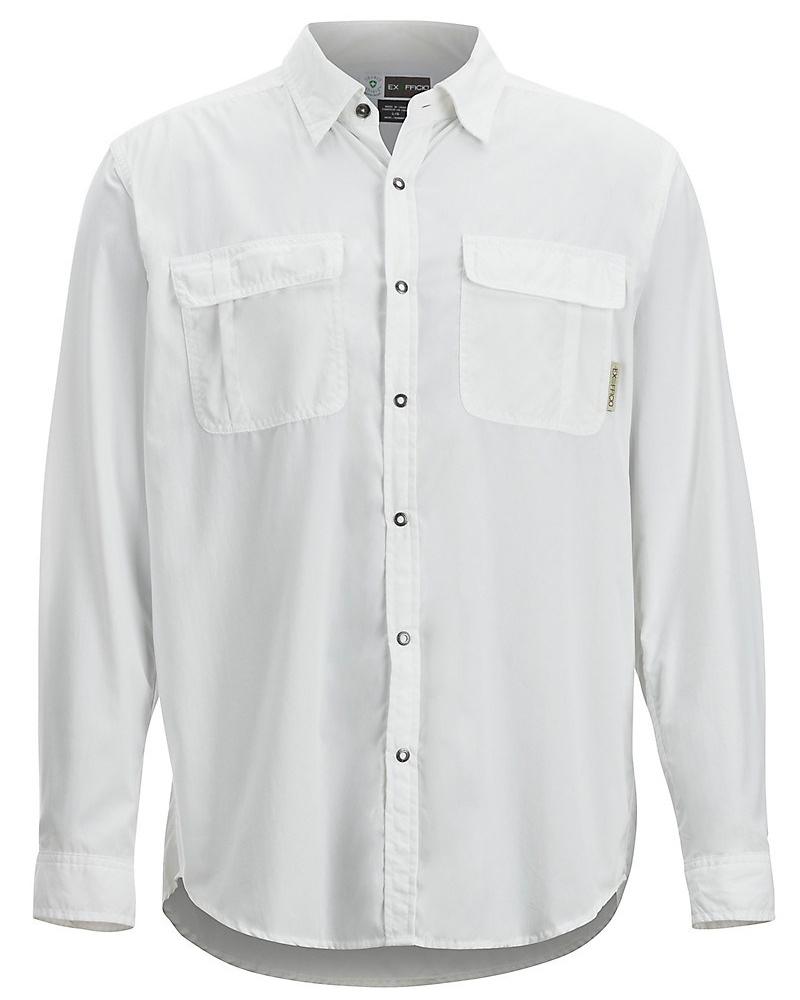 Fly Fishing Snap Button Shirt: ExOfficio Bugsaway Halo Long Sleeve Shirt