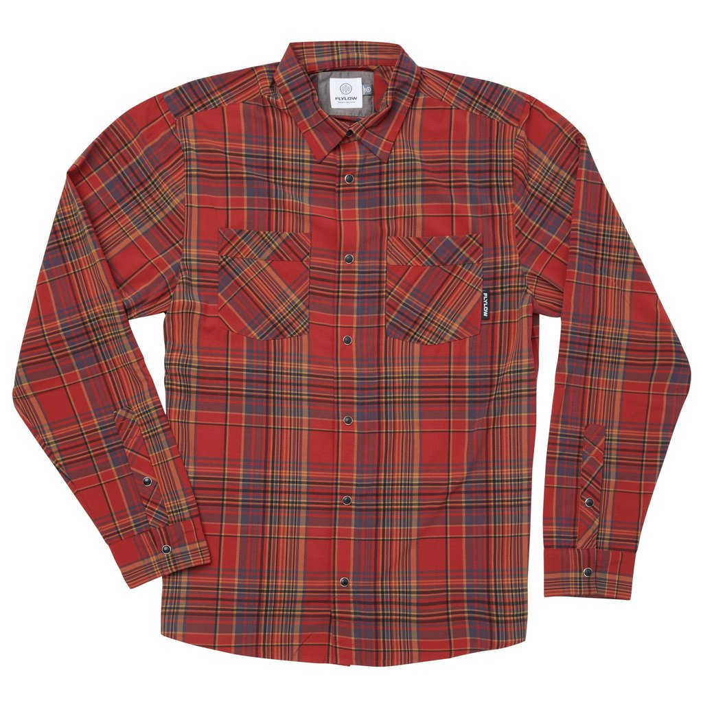 Fly Fishing Snap Button Shirt: Flylow Royal Shirt