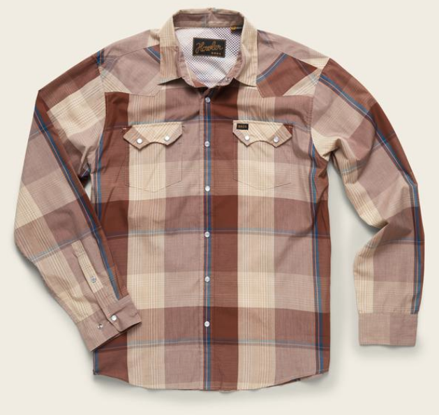 Fly Fishing Snap Button Shirt: Howler Brothers Crosscut Snapshirt