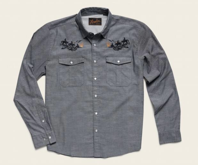Fly Fishing Snap Button Shirt: Howler Brothers Gaucho Snapshirt