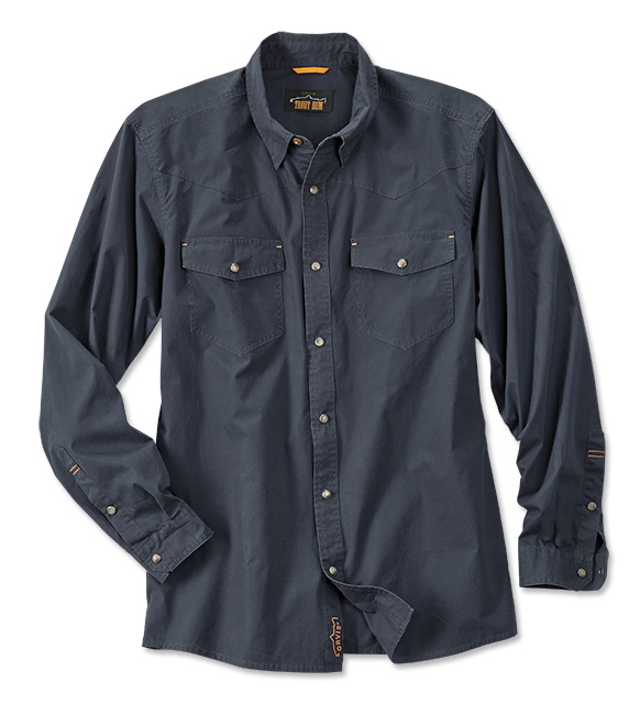 Fly Fishing Snap Button Shirt: Orvis Yellowstone Snap Shirt