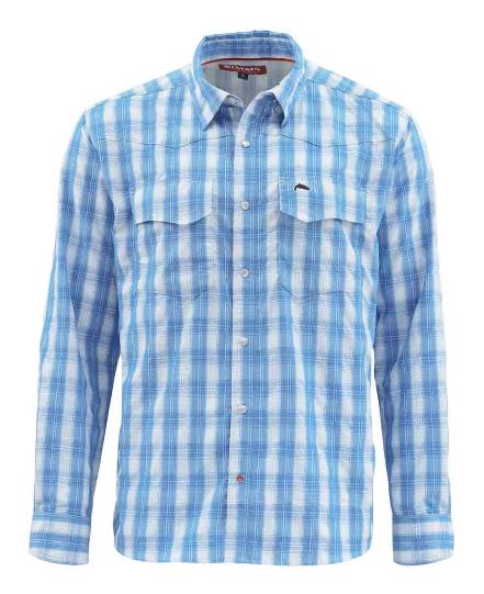 Fly Fishing Snap Button Shirt: Simms Big Sky Shirt