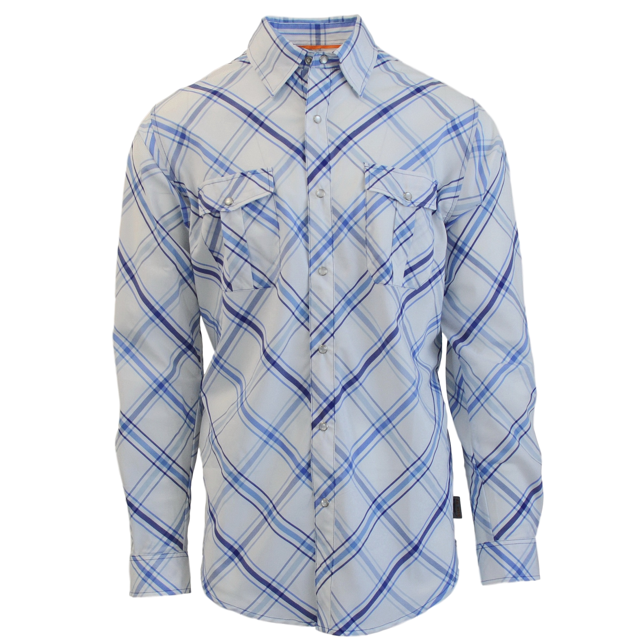 Fly Fishing Snap Button Shirt: Dagon Permit