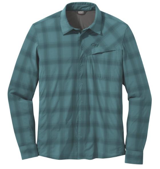 Fly Fishing Snap Button Shirt: Outdoor Research Astroman L/S Sun Shirt
