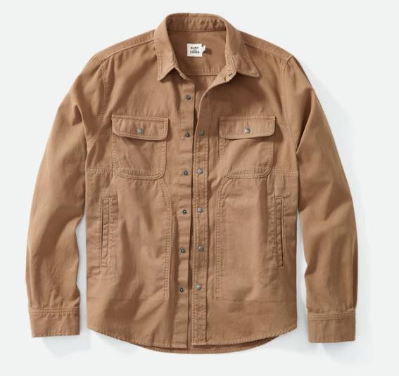Snap Button Shirt of the Day: Flint & Tinder - Bedford Camp Shirt