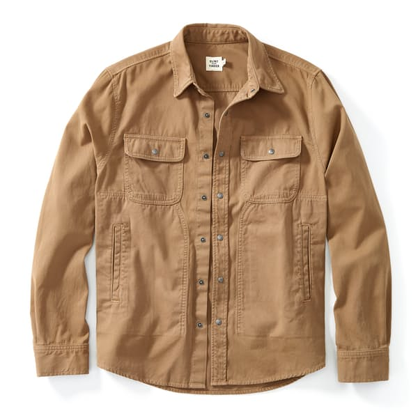 Snap Button Shirt of the Day: Flint and Tinder - Bedford Camp Shirt