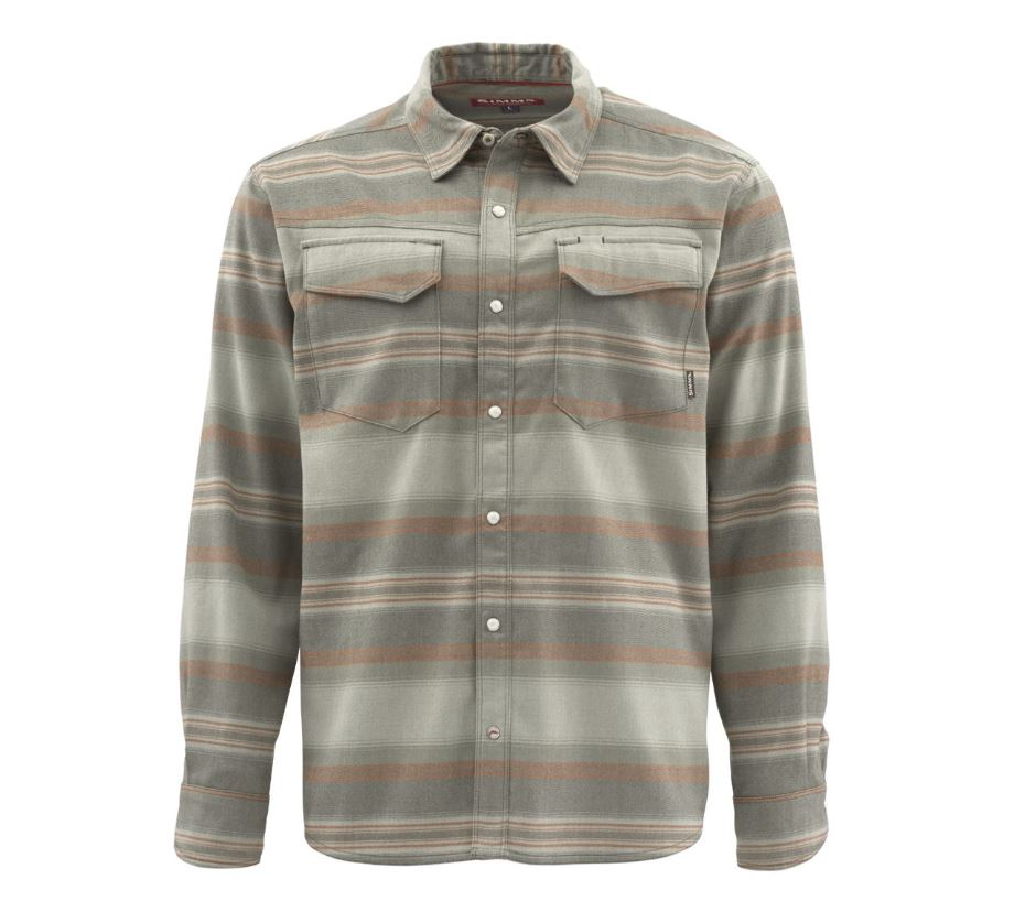Snap Button Shirt of the Day: Simms - Gallatin Flannel Shirt