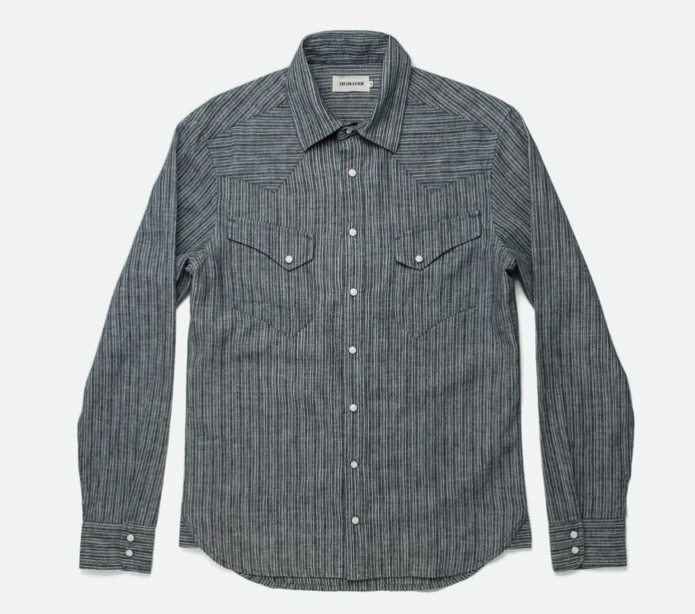 Snap Button Shirt of the Day: Taylor Stitch - The Western Shirt
