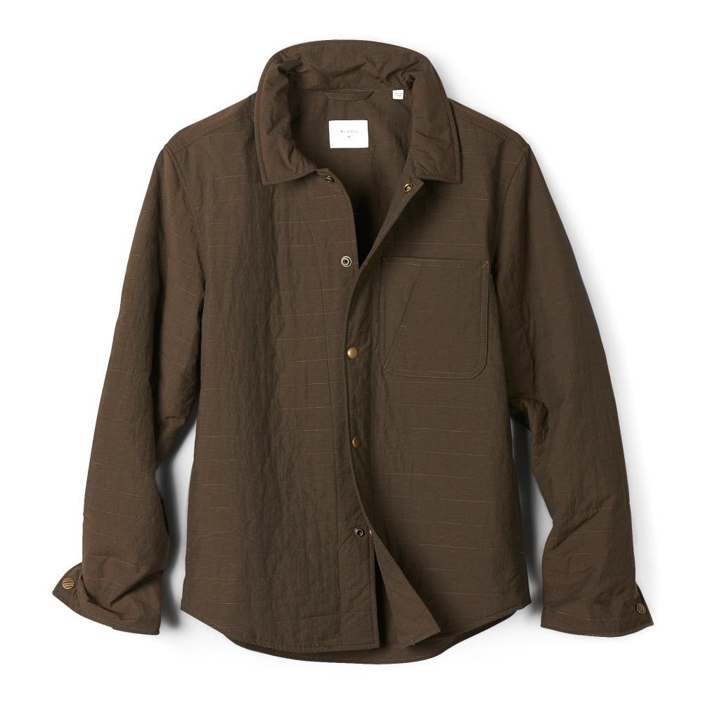 Snap Button Shirt of the Day: Billy Reid - Leroy Shirt Jacket