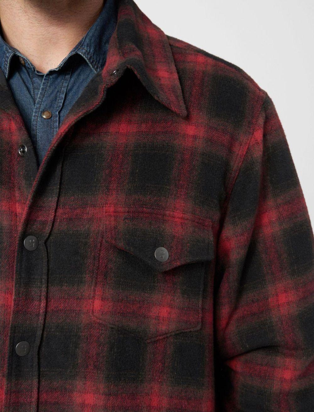 Snap Button Shirt of the Day: Stetson - Wool Blend Shirt Jacket