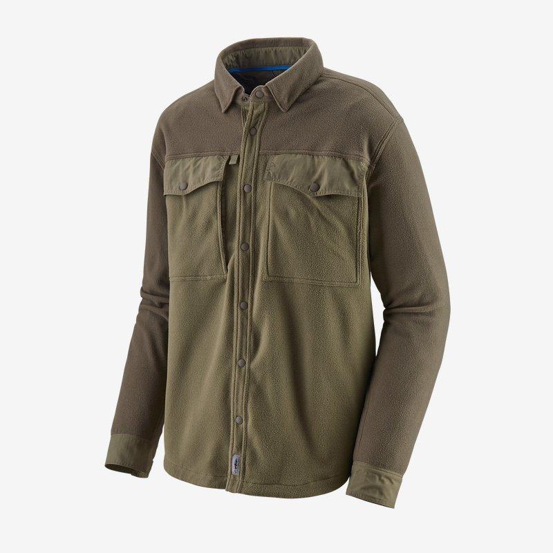 Fly Fishing Snap Button Shirt: Patagonia - Men's Long-Sleeved Early Rise Snap Shirt