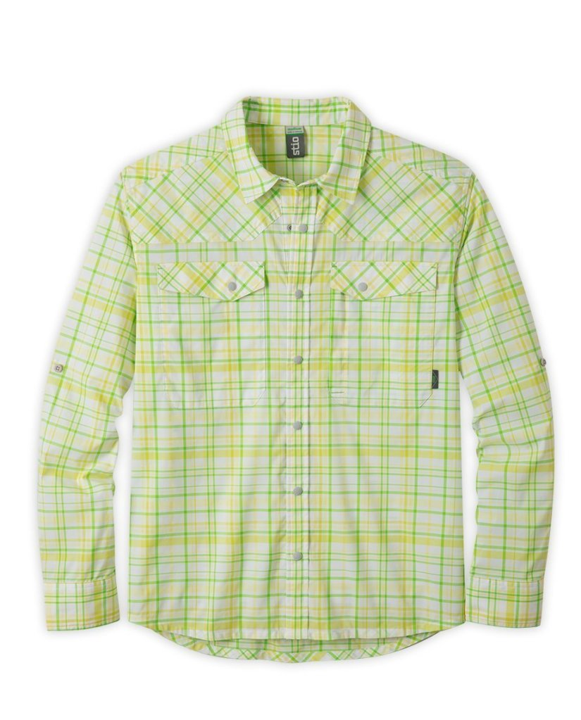Fly Fishing Snap Button Shirt: Stio - Eddy Drift Shirt