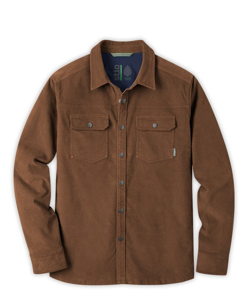 Snap Button Shirt of the Day: Stio - Saratoga Cord Shirt