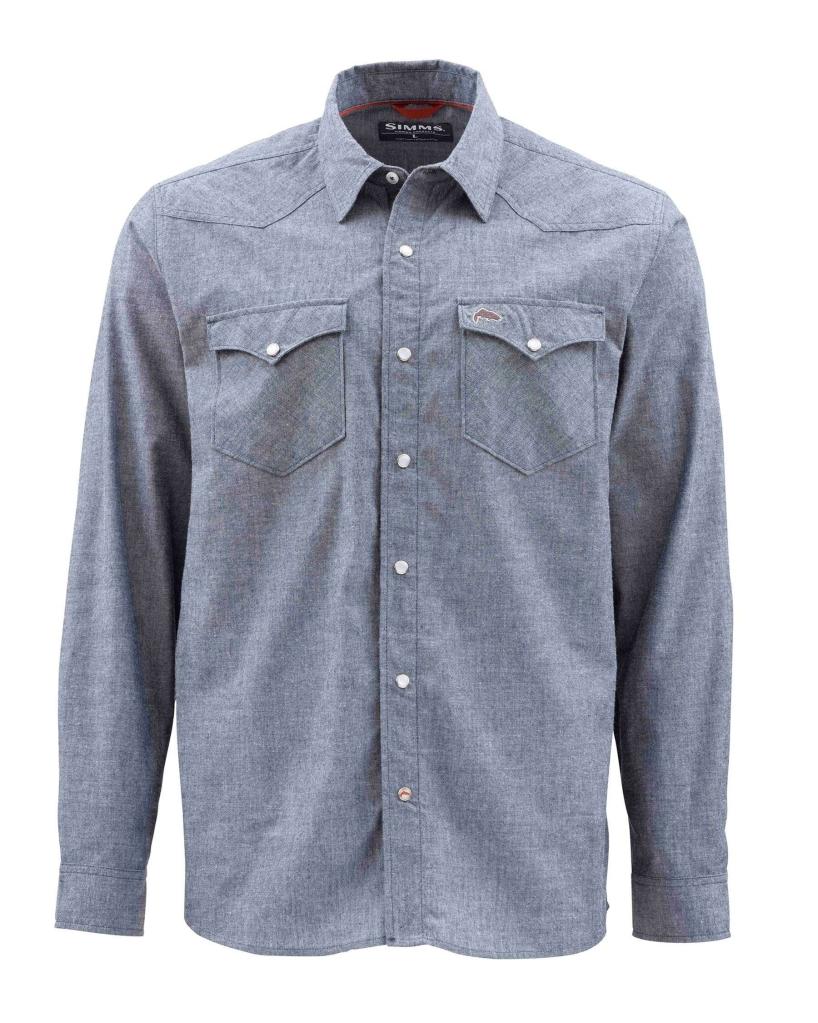 Snap Button Shirt of the Day: Simms - No-Tellum Fishing Shirt